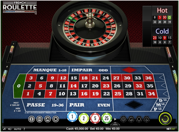 Play Mini Roulette Arcade Game at Casino.com UK