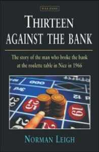 13 against the bank book front cover