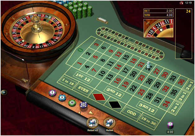 Betting on 0 roulette