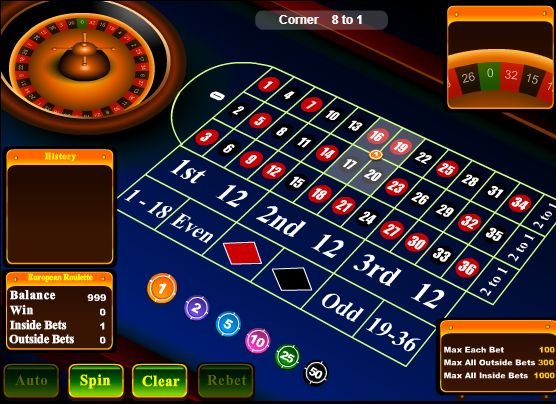 Roulette Inside Betting Strategy | Roulette Games