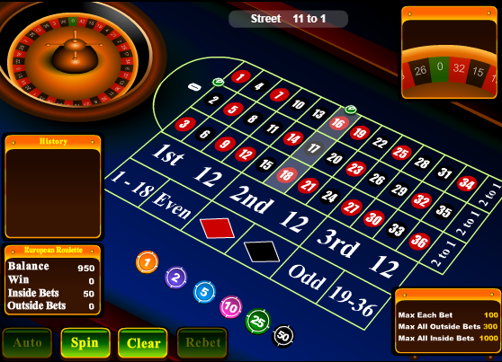 Roulette inside bets strategy online poker uk sites